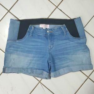 Isabel Jean Maternity Shorts sz 10